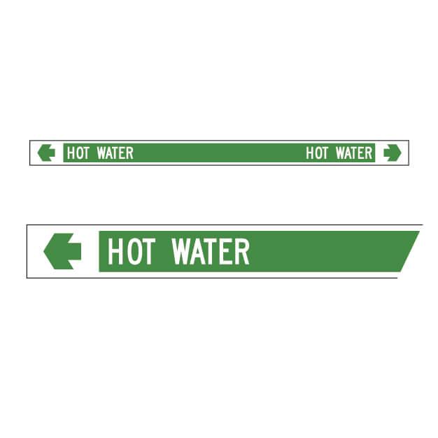 Pipemarker – Hot water