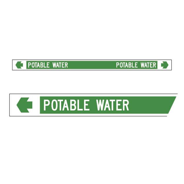 Pipemarker – Potable Water