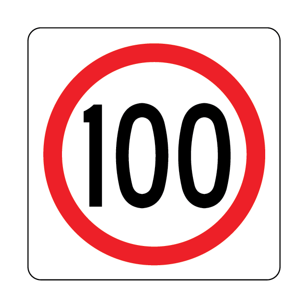 100 Speed Limit