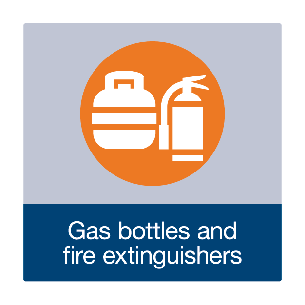 Gas Bottles and Fire Extinguishers